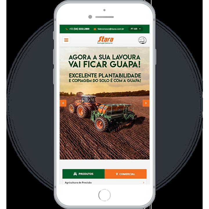 Website Mobile Stara
